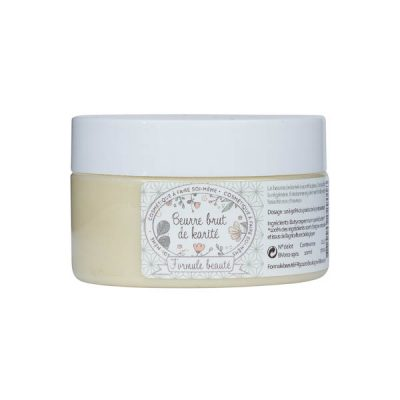 Beurre de karité pour la cosmétique maison