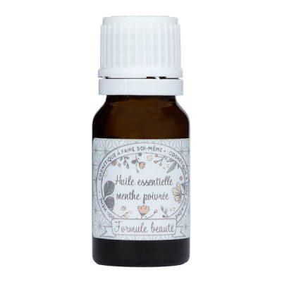 Huile essentielle de menthe poivrée pour la cosmétique maison