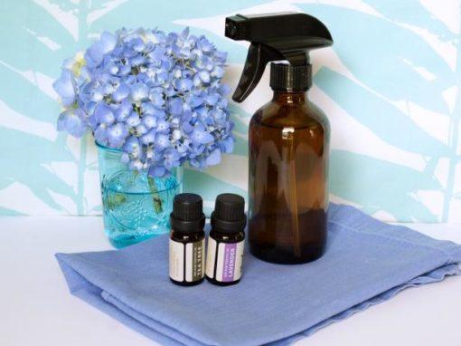 Image produit - Recette cosmétique Spray désinfectant pour les mains