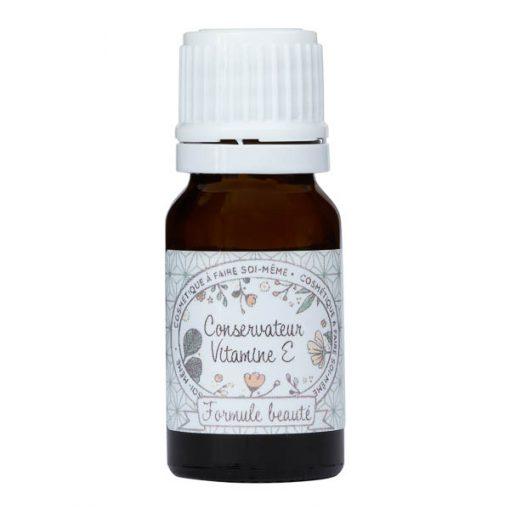 Vitamine E conservateur naturel pour la cosmétique maison