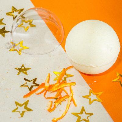 Image produit - Recette cosmétique Bombes de bain pep's d'orange