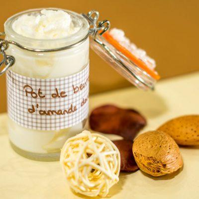 Image produit - Recette cosmétique Pot de beurre d'amande douce