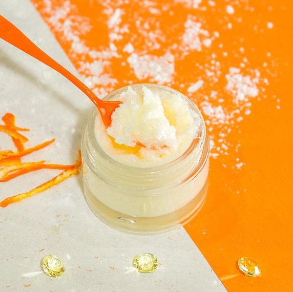 Image produit - Recette cosmétique Scrub salé fraicheur d'agrumes