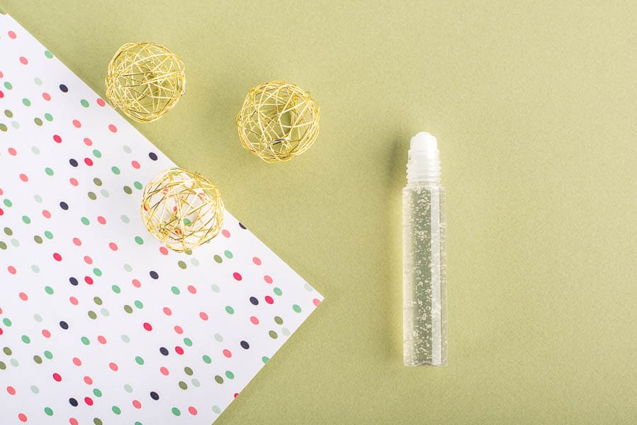Recette cosmétique roll-on gel anti imperfections