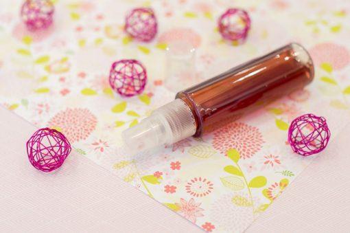Image produit - Recette cosmétique maison - Brume hydratante réveil fruité