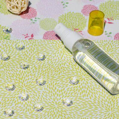 Recette cosmétique mon eau raffermissante pour le corps