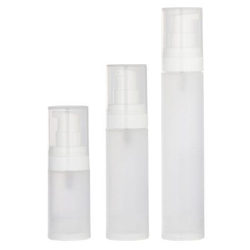 Flacon airless contenant pour la cosmétique maison