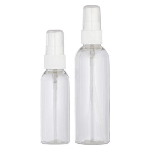 Flacon spray contenant pour la cosmétique maison