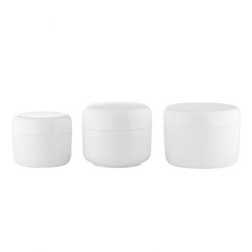 Pot contenant pour la cosmétique maison