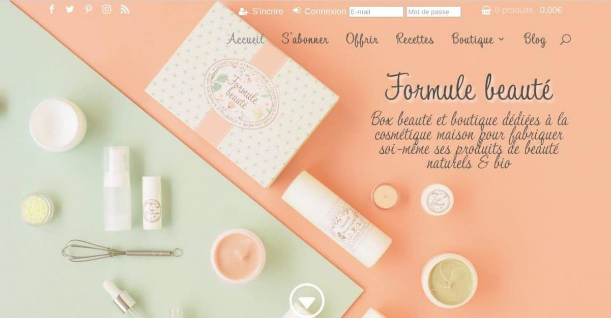 Cosmetique Maison Ingredients Naturels Et Recettes Formule Beaute