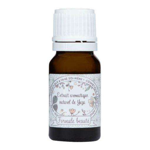 Extrait aromatique de yuzu pour la cosmétique maison