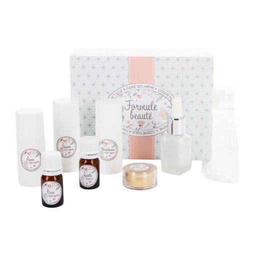 Kit cosmétique maison huiles