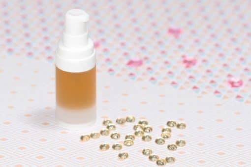 Recette cosmétique gelée fleurie désaltérante pour le visage