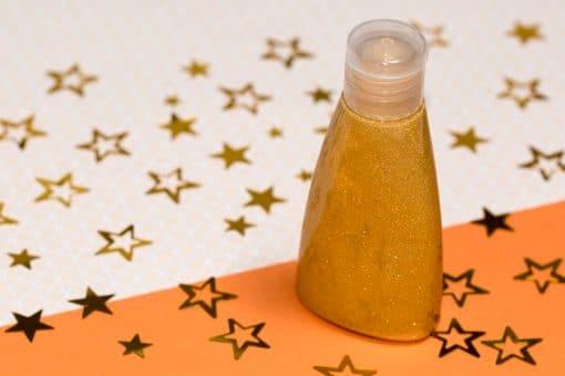 Recette cosmétique huile sèche scintillante pour le corps
