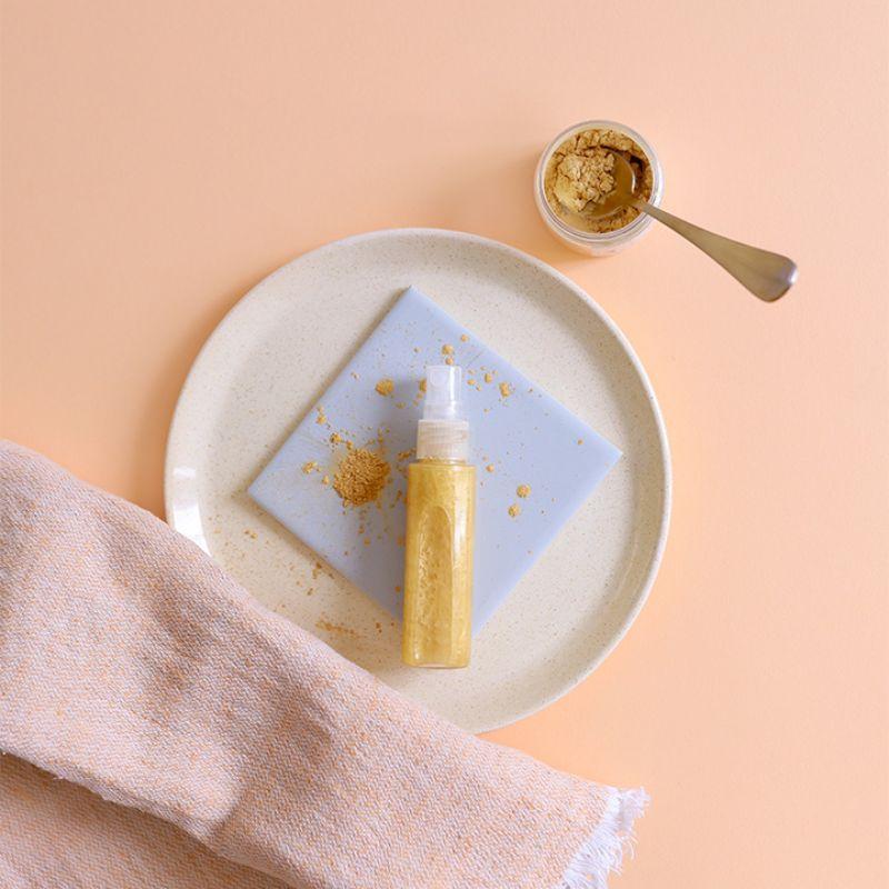 Recette huile sèche scintillante pour le corps