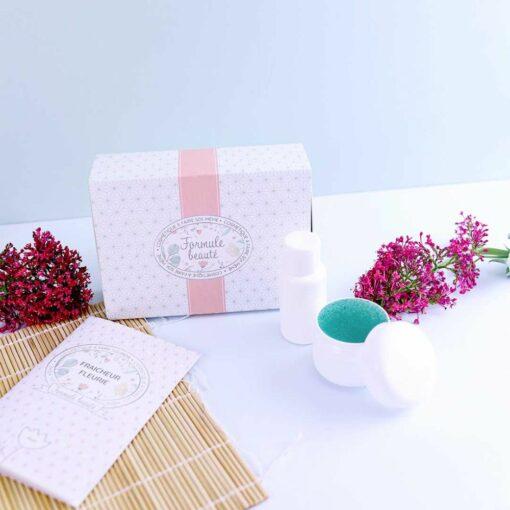 soins naturels maison box fraicheur fleurie