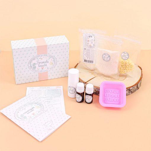 kit cosmétiques solides diy zéro déchet