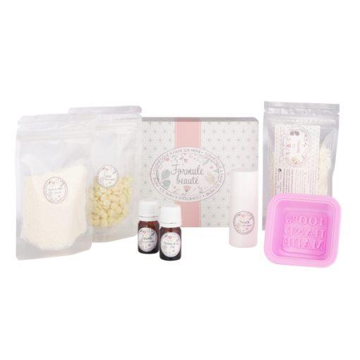 Kit cosmétique maison cosmétiques solides