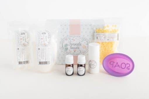 Kit cosmétique maison cosmetiques solides