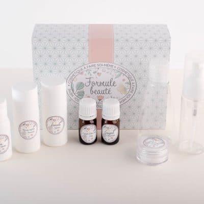 Kit cosmétique maison soins visage