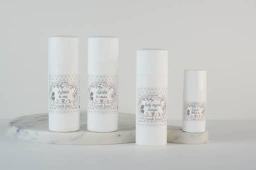Pack d'ingrédients naturels pour le soin des peaux matures