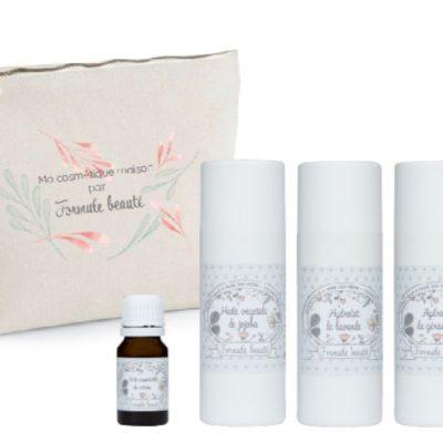 Kit de soins naturels pour les peaux mixtes