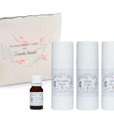 Kit de soins naturels pour les peaux sèches