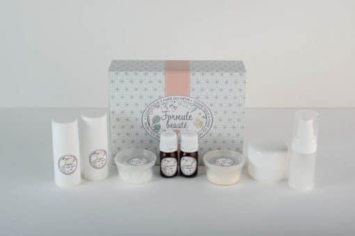 Kit cosmétique maison pour fabriquer ses premières crèmes
