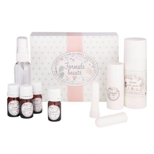 Kit cosmétique maison pour découvrir l'aromathérapie