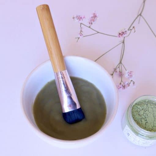 Recette cosmétique masque gelée aloe vera et matcha