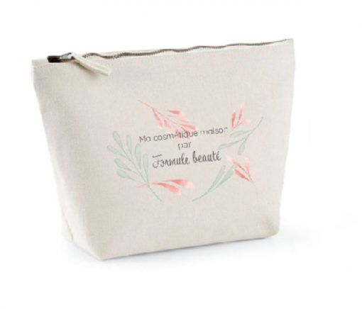 trousse en coton naturel