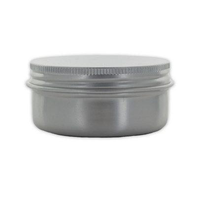 Pot vide en aluminium pour la cosmétique maison