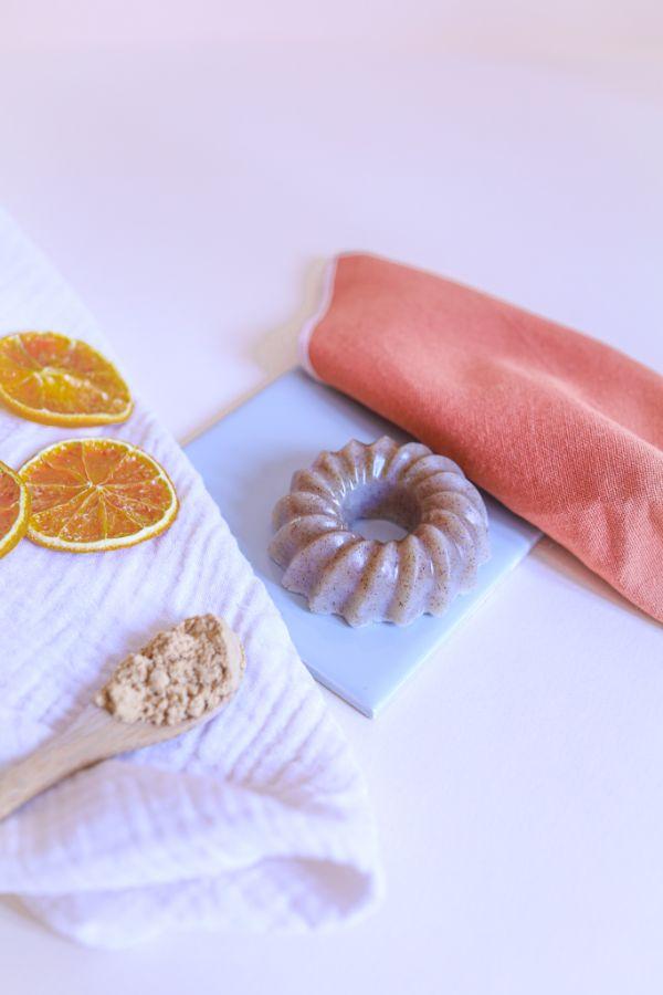 savon exfoliant recette gommage corps maison